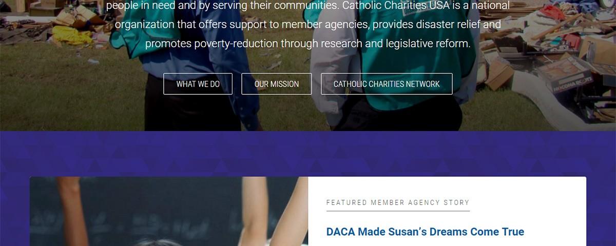 Client - catholic charities usa